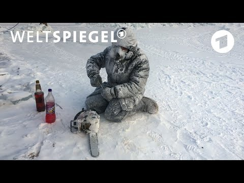 Russland: Akkordarbeit bei minus 58 Grad | Weltspiege ...