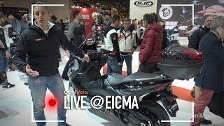 Yamaha TMax 2017 a EICMA 2016