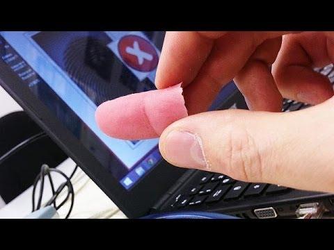 Как сделать отпечаток своего пальца