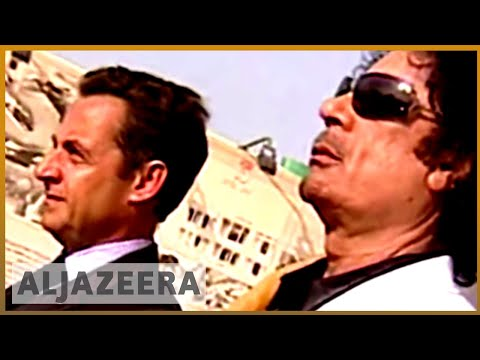 🇫🇷 France's Nicolas Sarkozy held over Gaddafi funding claims | Al Jazeera English
