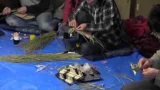 しめ縄作り講習会