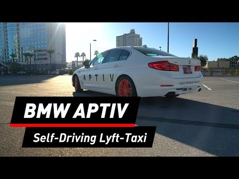 BMW Aptiv: Selbstfahrendes Taxi in Las Vegas
