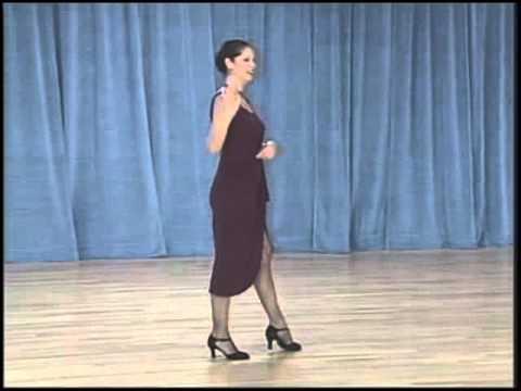 основные фигуры аргентинского танго - 11 Cross system basic(2 часть)