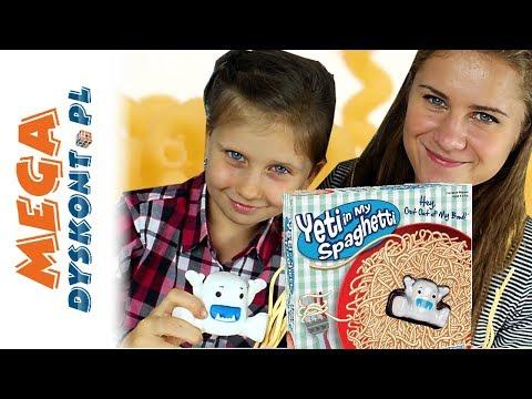Yeti in my Spaghetti Gra • Challenge z Amelką • TM Toys • Gry dla dzieci