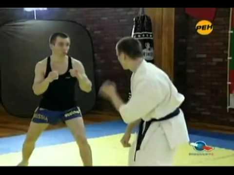 Каратэ против кикбоксинг. (видео)