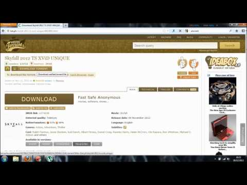 How to download free movies with kickass torrent?