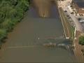 Raw: Flood Waters Receding in Missouri