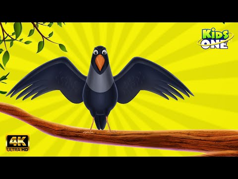 Chettu Meeda Kaki Pilla  Crow Rhymes  Animated Birds Rhymes