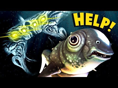 Subnautica - THIS IS TOO MUCH TO HANDLE!! Cuddle Fish Update - Subnautica Gameplay (видео)