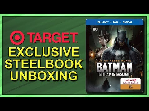 Batman: Gotham By Gaslight Target Exclusive SteelBook Unboxing