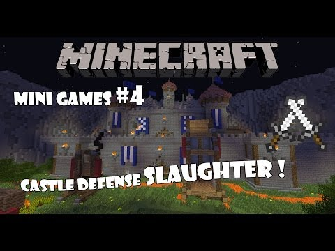Minecraft Mini Games Еп.4 - Castle Defense