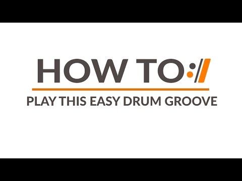 Play This EASY Drum Groove With ANY Worship Song!