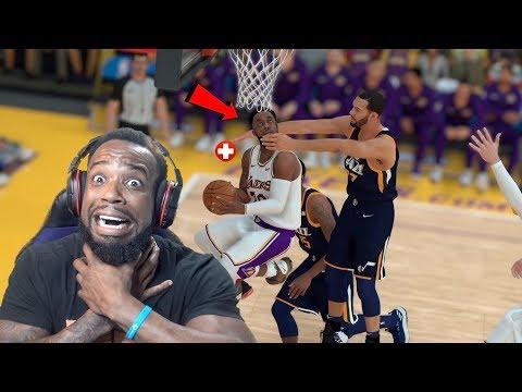 Rudy Gobert Tried To INJURE Me!!! Lakers vs Jazz NBA 2K19 MyCareer Ep 69