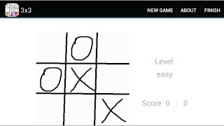 Tic-tac-toe 3-4-5 YouTube video