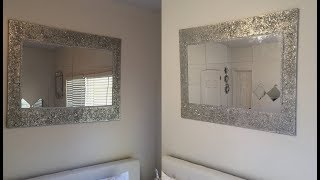 Dollar Tree DIY || Huge Decorative Wall Mirror