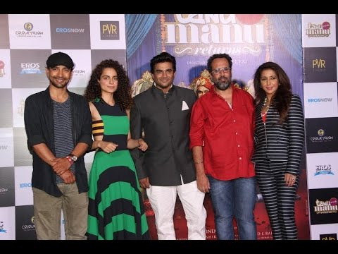 Trailer Launch Of Film Tanu Weds Manu Returns With Kangana Ranaut and R. Madhavan