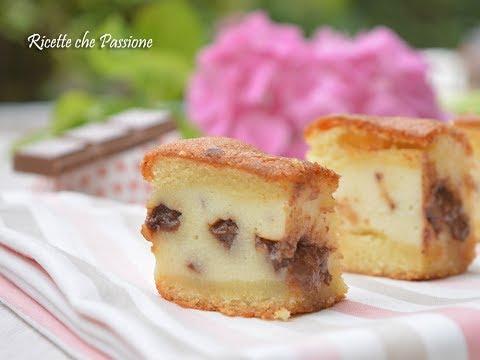 torta versata alla ricotta con cioccolato - ricetta