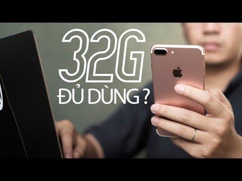 Năm 2019 rồi thì có nên mua iPhone dung lượng 32G để dùng ?