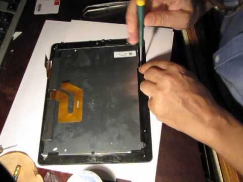 как включить планшет если разбит и не работает сенсоры