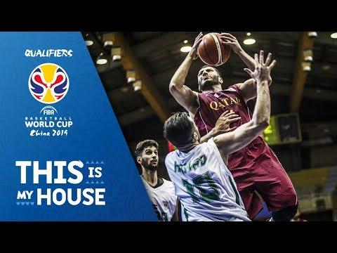 Iraq v Qatar - Highlights - FIBA Basketball World Cup 2019 - Asian Qualifiers (видео)