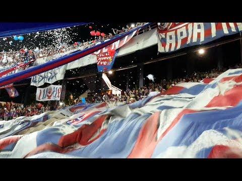 Cerro Porteño - Deportivo Capiatá 2-0 28.10.2017 Hinchada Ciclón Azulgrana IMPRESIONANTE ALIENTO! - La Plaza y Comando - Cerro Porteño