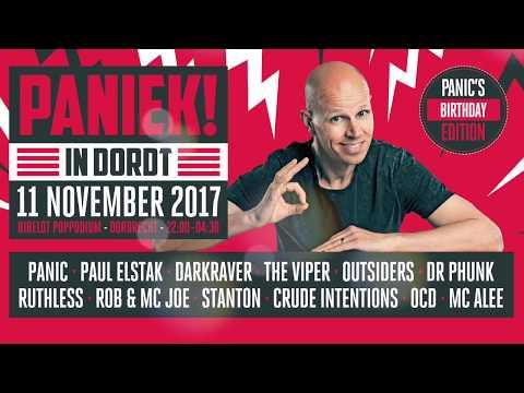 Paniek in Dordt - Panic's birthday edition 11-11-2017