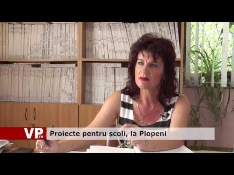 Proiecte pentru școli, la Plopeni