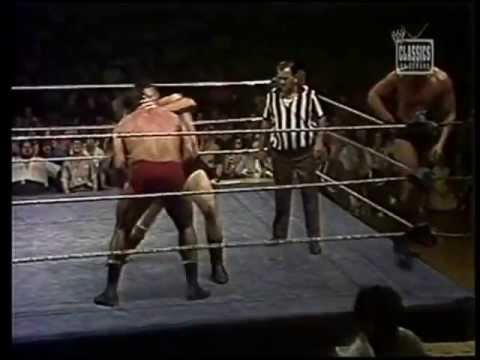 denucci - Denucci and Rivera take on Blackjack Lanza and Blackjack Mulligan on WWWF All Star Wrestling from 1974. all rights owned by WWE ENTERTAINMENT.