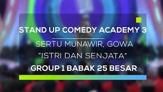 Video Stand Up Comedy Academy 3 : Sertu Munawir, Gowa - Istri dan Senjata MP3, 3GP, MP4, WEBM, AVI, FLV September 2017