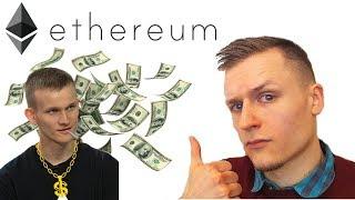 Ethereum ETH geriau už bitcoin kriptovaliutą? Kiek kils Ethereum kaina?