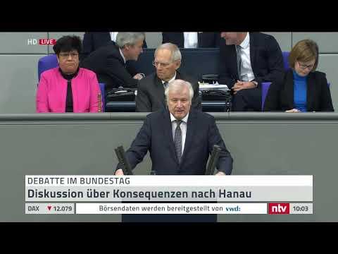 Debatte im Bundestag zu Rechtsterrorismus und Hass