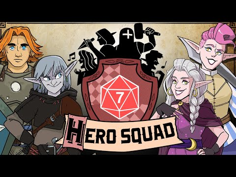 Hero Squad: Under the Dragon's Shadow - #7 - TROUBLE COMES TO SHIFTER TOWN! (Dungeons & Dragons)