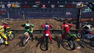 Intense Last Lap Battle : Online : Mx Vs Atv Supercross Encore
