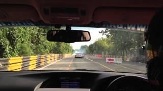 The Bangsaen Thailand Speed Festival 2012, Race Track (Street Circuit)