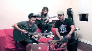 Far East Movement - Rocketeer (Cover) - JR Aquino x Tori Kelly x AJ Rafael [FREE MP3!!!]