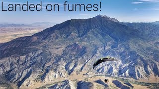 Video Running low on fuel above Mount Nebo! MP3, 3GP, MP4, WEBM, AVI, FLV Oktober 2018