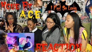 Hcue FT A.C.E I FEEL SO LUCKY REACTION [LATE, WE KNOW]