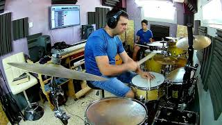 Blink 182 - After Midnightd Drum Cover 1 mic recording