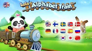 Lola's Alphabet Train ABC Game YouTube video