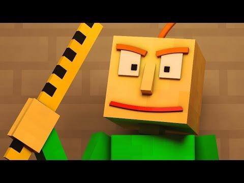 """Basics in Behavior"" | Baldi's Basics Animated Minecraft Music Video"