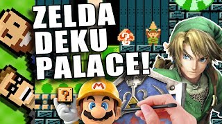 """Welcome to The Basement, let's play Deku Dungeon (Legend of Zelda) on Super Mario Maker for the Wii U! This is a very well done level. The Basement is the friendliest place on YouTube!https://www.youtube.com/c/TheBasementGamesIn today's video, we play a Legend of Zelda course (Deku Dungeon) made in Mario Maker. Come downstairs and have a seat with us on the couch right here in The Basement - the friendliest place on YouTube!Zelda: Deku Dungeonby Julianhttps://supermariomakerbookmark.nintendo.net/courses/B038-0000-02B6-F2F9How did we find this Zelda level in Mario Maker? We went the top-starred levels in Mario Maker and looked for """"Zelda"""" in the titles of the Mario Maker courses. It wasn't long before we found """"Zelda: Deku Dungeon"""" among all of the other Zelda-themed Mario Maker levels with lots of stars. Deku Dungeon turned out to be a really fun Mario Maker course! I'm glad we played this Zelda-themed Mario Maker level.Do you know of any Zelda-themed Mario Maker levels we should play?The Basement is a let's play Youtube channel - a duo of musical dads from Minnesota, USA. Family friendly gaming that's safe for kids, clean commentary and nostalgic experiences are our motto. Think of us as a clean Game Grumps kind of channel. Game Grumps clean? Kinda! We're definitely kid-friendly content with no swearing and games that are appropriate for all ages. We are proud to be the friendliest place on YouTube!Like The Basement? Give us a thumbs up! ^^^^If you want to be sassy and you can keep it classy, leave a comment below!Subscribe for More! - http://bit.ly/SubscribeToTheBasementIf you want to help out The Basement even more - share the subscribe link above with a friend! The more the merrier :)Peter - https://www.youtube.com/user/peterplaysbassTed - https://www.youtube.com/user/tedguitarnerdJoin The Basement by following us on...Facebook - https://www.facebook.com/TheBasementGamesTwitter - https://twitter.com/the8asementInstagram - https://www.instagram.com/TheBasementGam"""