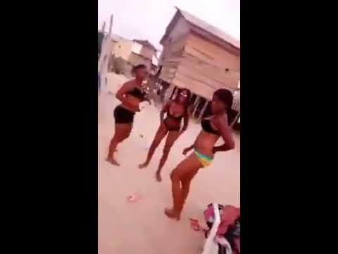 Nigerian University Girls Smoking And Dancing Lol
