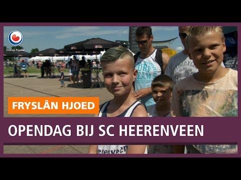 Reportage Open Dag SC Heerenveen