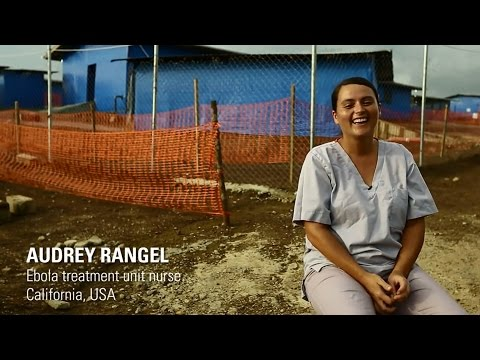 """I've never had a job like this,"" explains California nurse Audrey Rangel from inside the Ebola treatment unit (ETU) in Bong County, Liberia in October 2014. Audrey's days are spent on the front lines of the Ebola response, suiting up in protective gear and caring for the sick. Even as she roots for survivors, she admits that its easy to get attached to her patients: ""For some reason you're sad to see them go."" This short film blends an intimate look at life in an ETU with a powerful story of survival. The Bong County ETU is run by International Medical Corps and supported and funded by USAID and the American people."