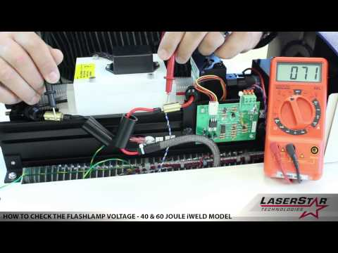 <h3>How To Check the Flashlamp Voltage (4-Screw Chamber)</h3>