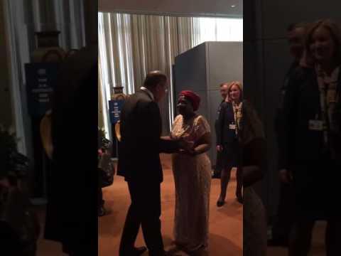 В кулуарах ООН: Сергей Лавров (видео)