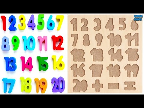 Learn 1 To 20 Numbers For Kids Counting Numbers Magic Numbers 1 to 20 123 Learning Apps for kids (видео)