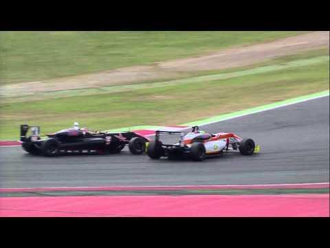 Euroformula Open ROUND 8 SPAIN – BARCELONA Race 1 Highlights