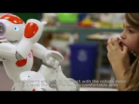 NAO Robot in School – for STEM, Autism and engaging students