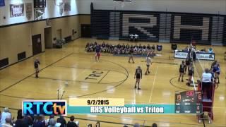Rochester High School Girls Volleyball vs Triton
